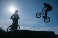 На территории Лайф Парка теперь функционирует BMX комплекс!